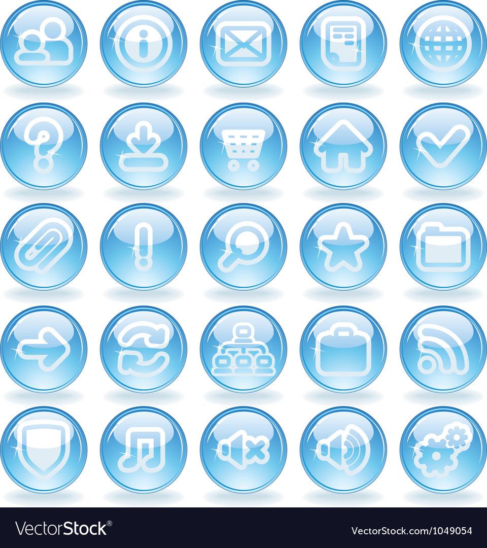 Shine Glass Icons