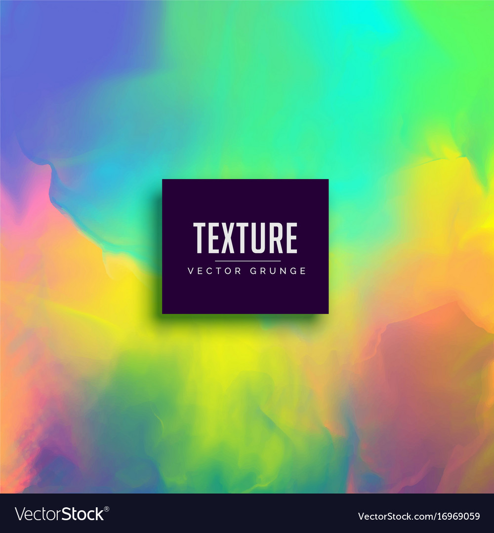 Colorful watercolor paint texture effect