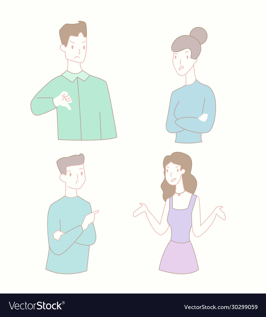 Man and woman relationship conflict flat