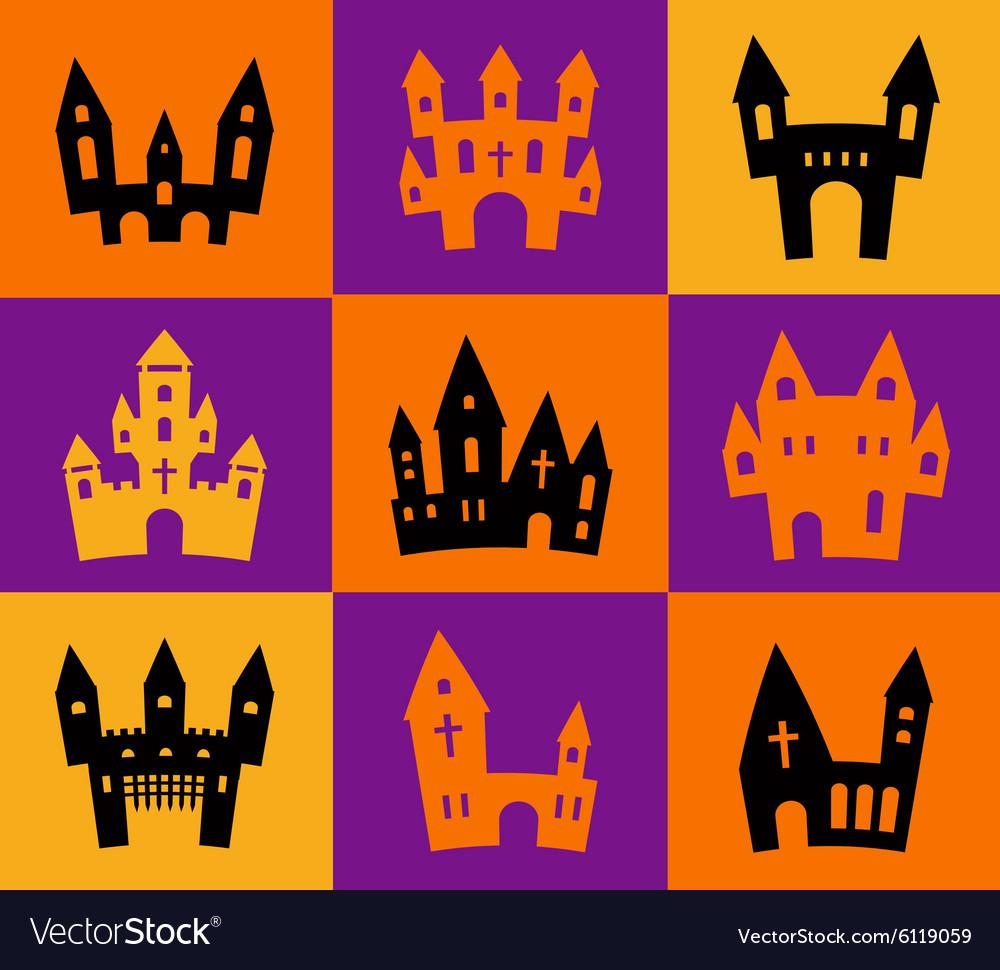 Print Halloween silhouettes