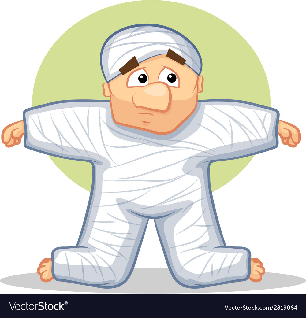 Body Cast vector image