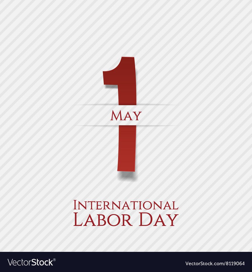 May 1 Banner International Labor Day