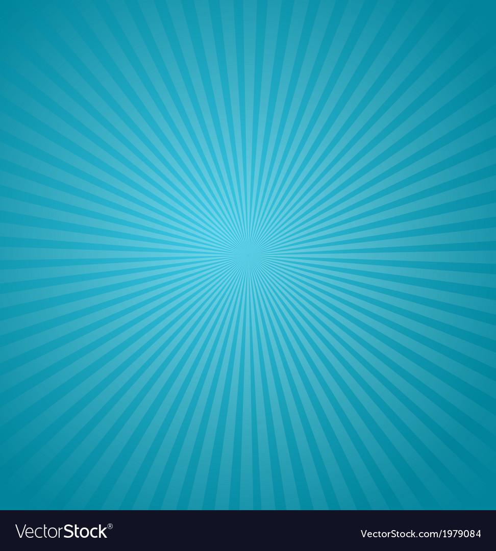 Blue rays background Burst