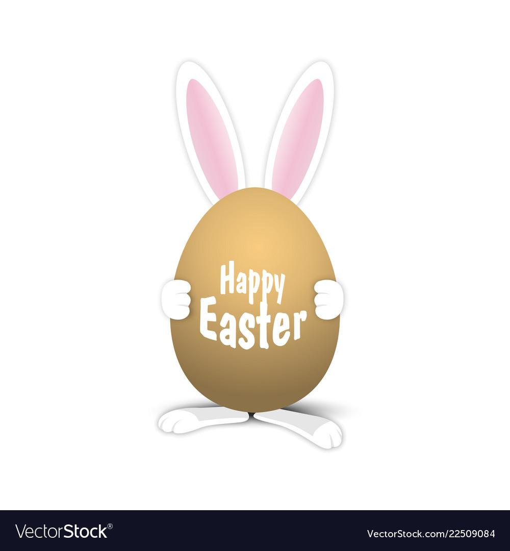 Easter egg easter rabbit easter bunny