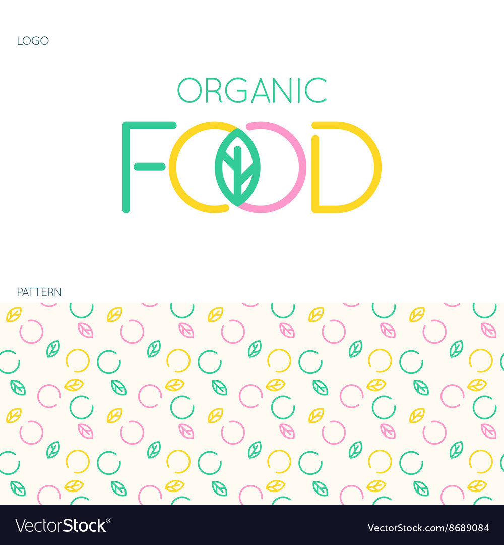 Food logo and pattern