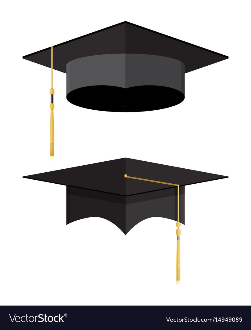 Academic graduation cap student hat