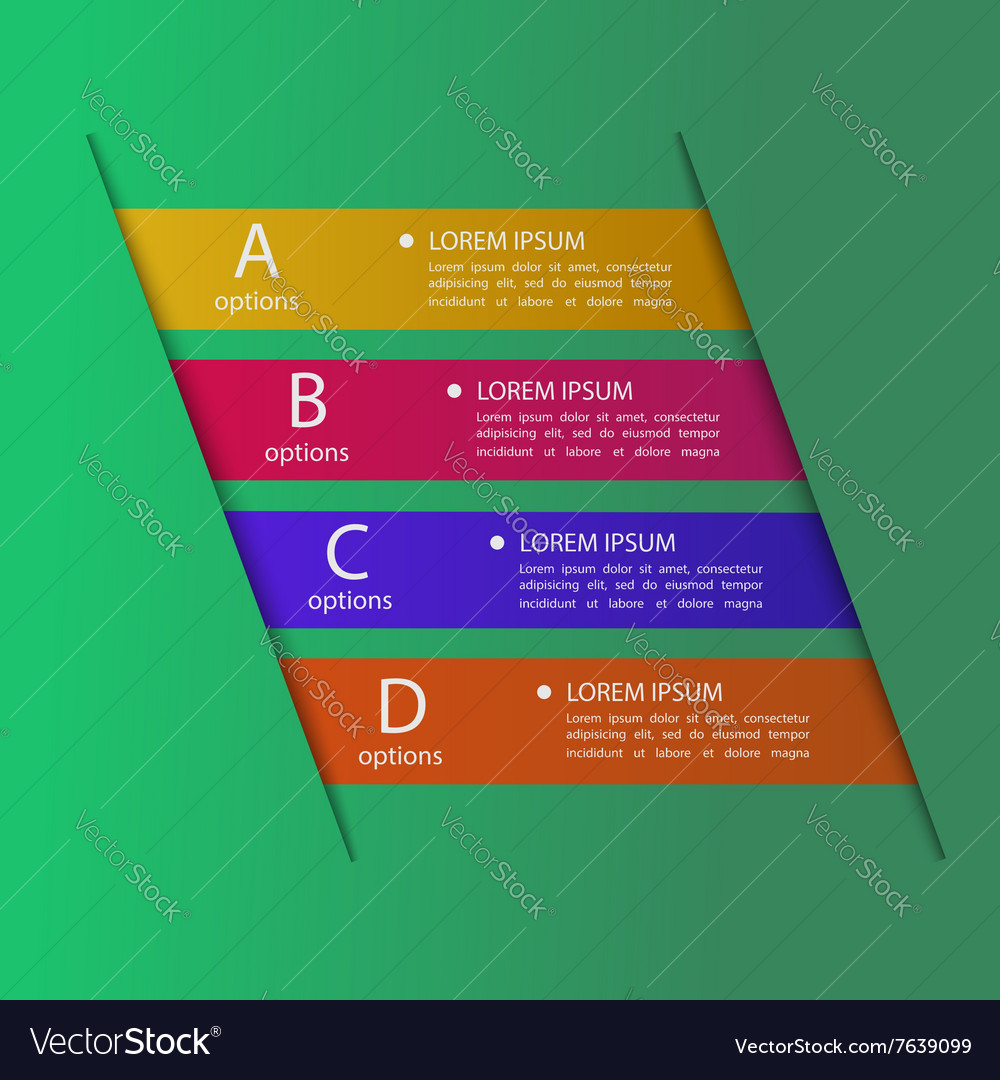 Business banner template vector image