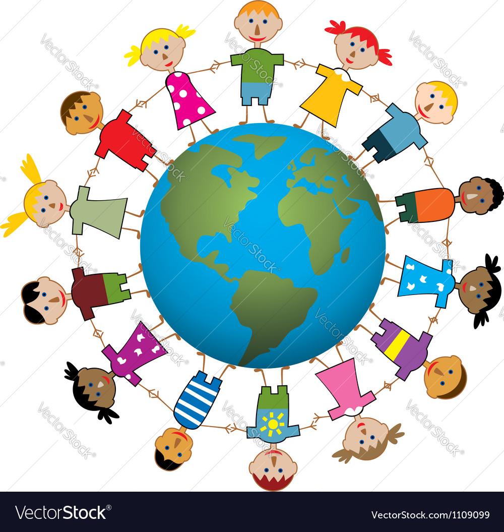 Children around world