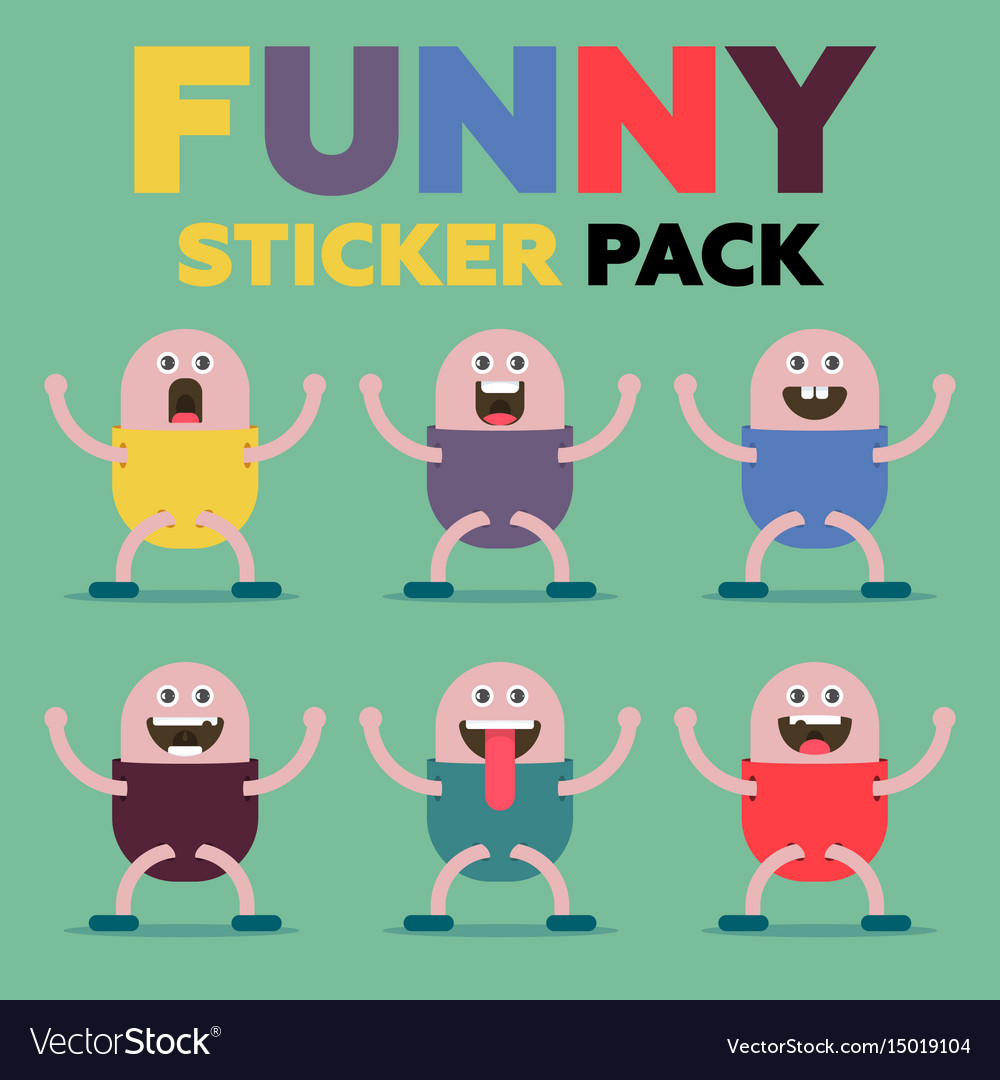 Funny sticker pack