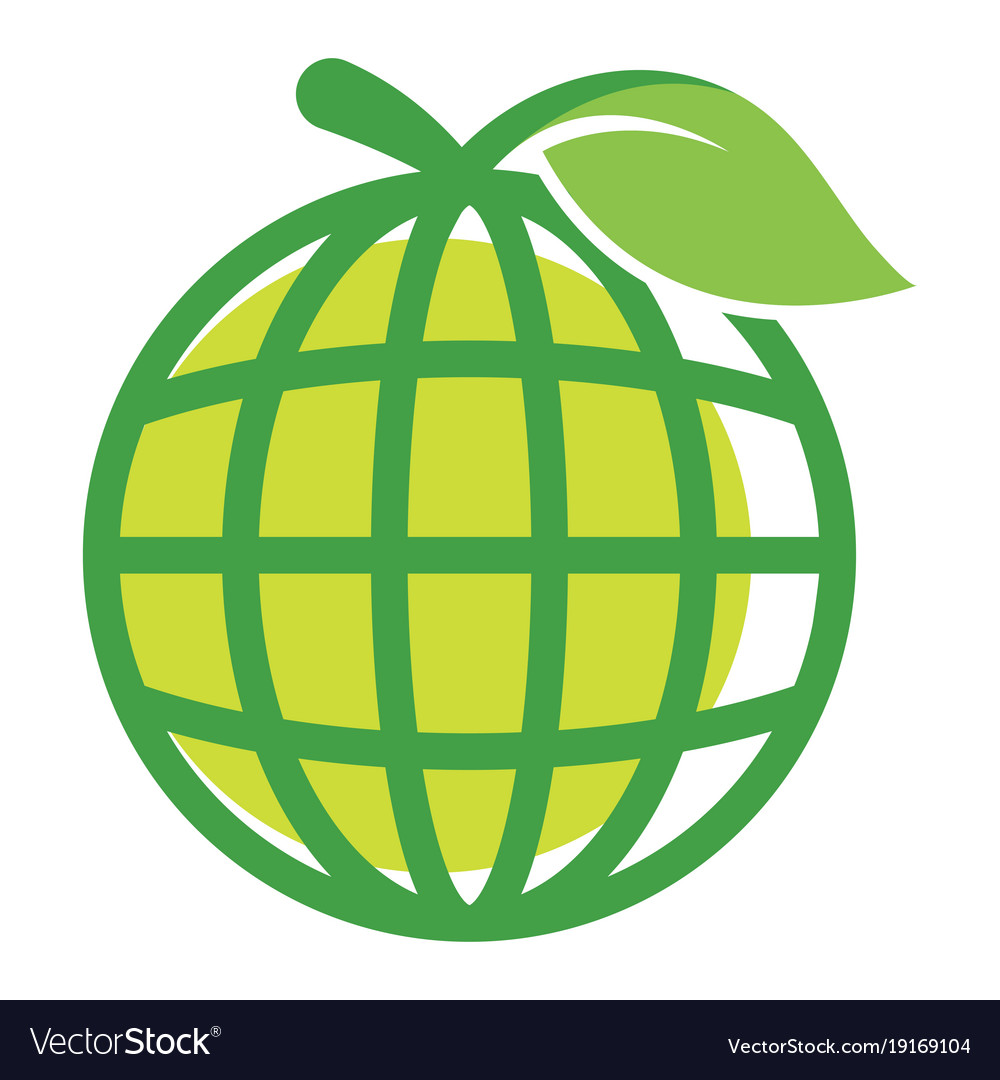 Icon logo for global business