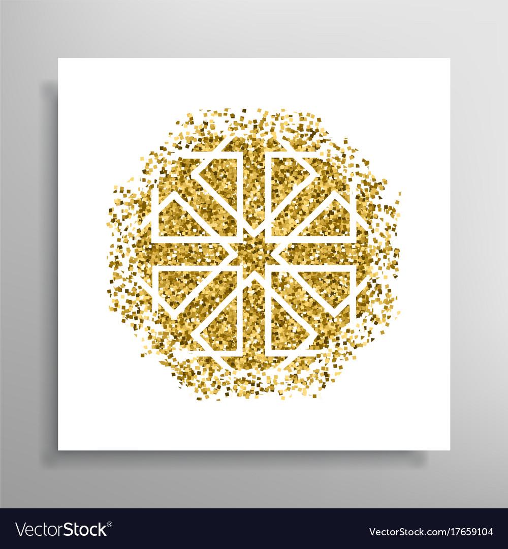 Islamic Golden Pattern