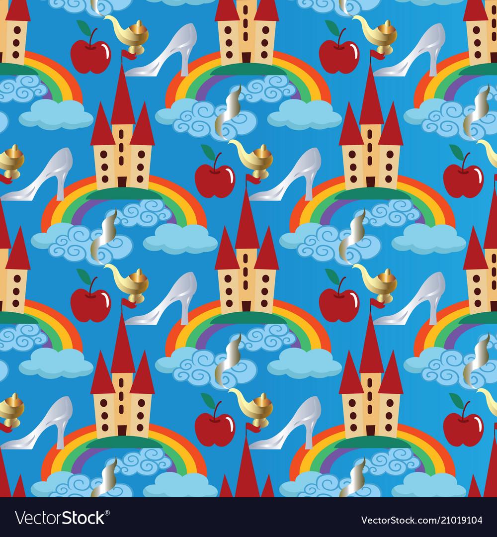 Light blue seamless pattern background
