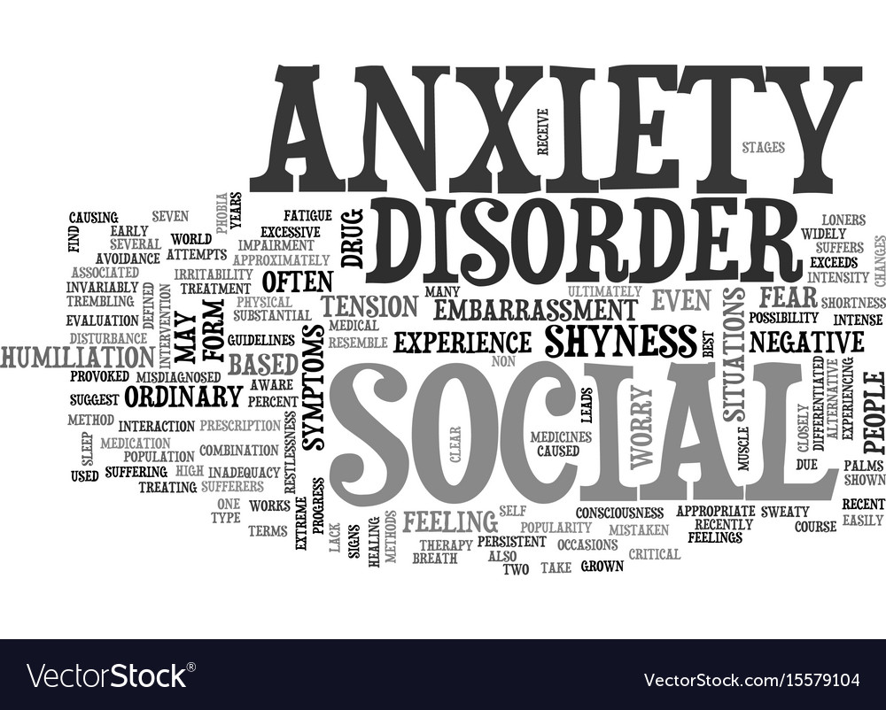 Pdf anxiety disorder