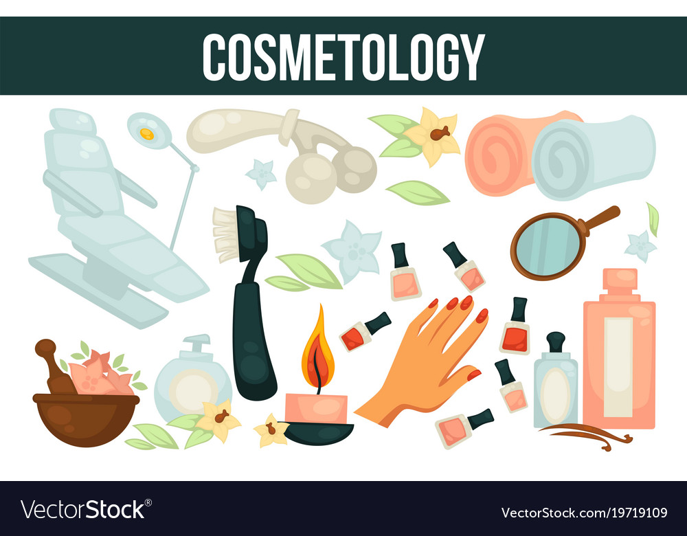 Cosmetology services for beouty and health