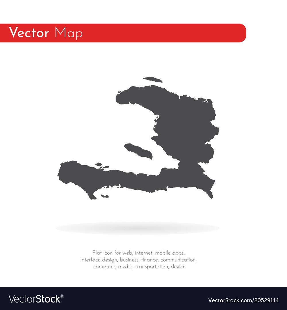 Map haiti isolated black on royalty free vector image map haiti isolated black on vector image gumiabroncs Choice Image