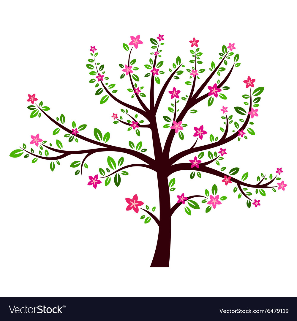 Tree spring sign