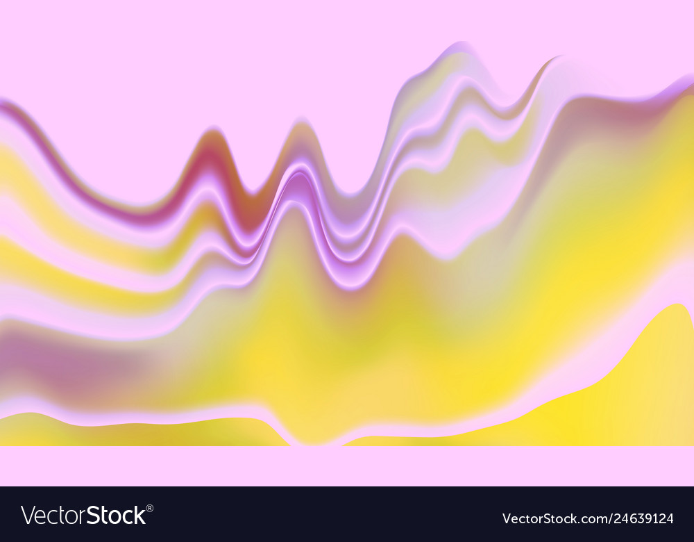 Dynamic effect abstract 3d wavy background