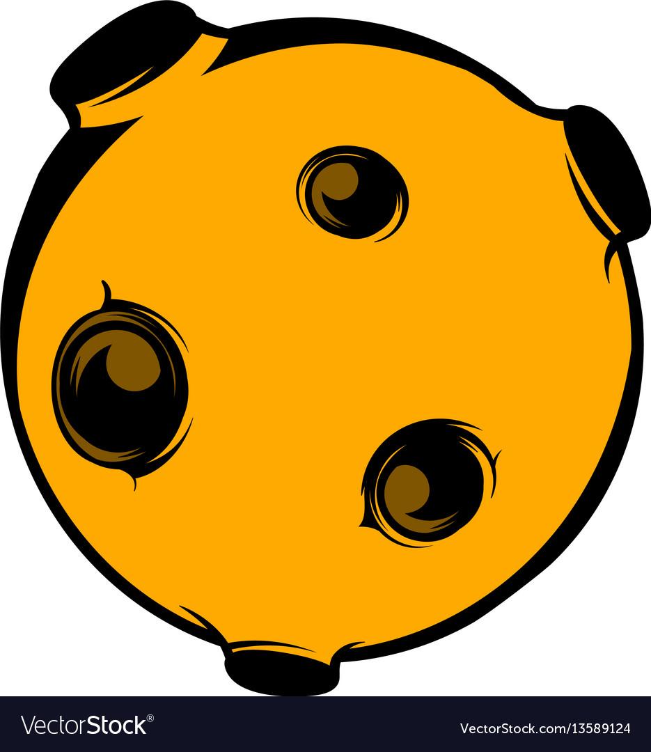 Moon icon icon cartoon