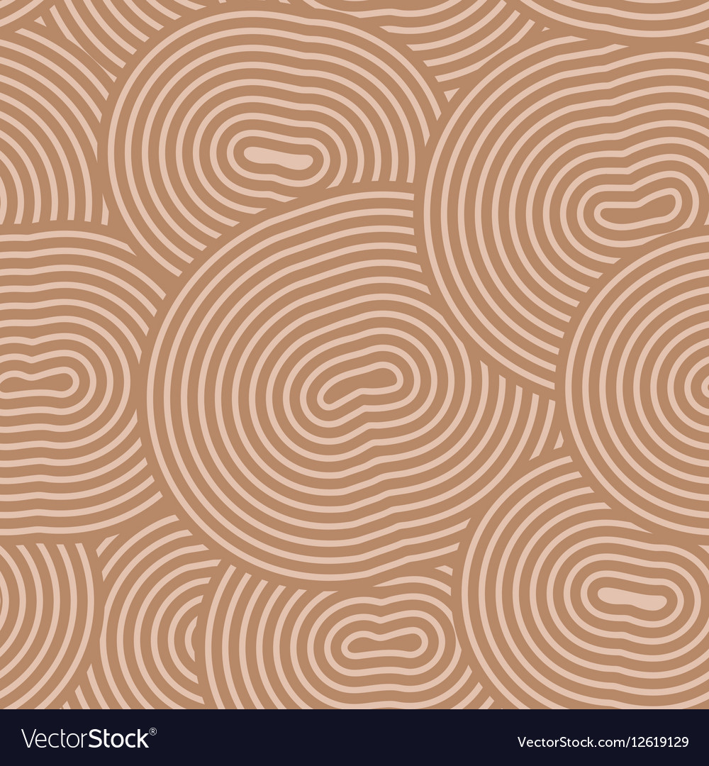 Abstract seamless ornament stencil round pattern
