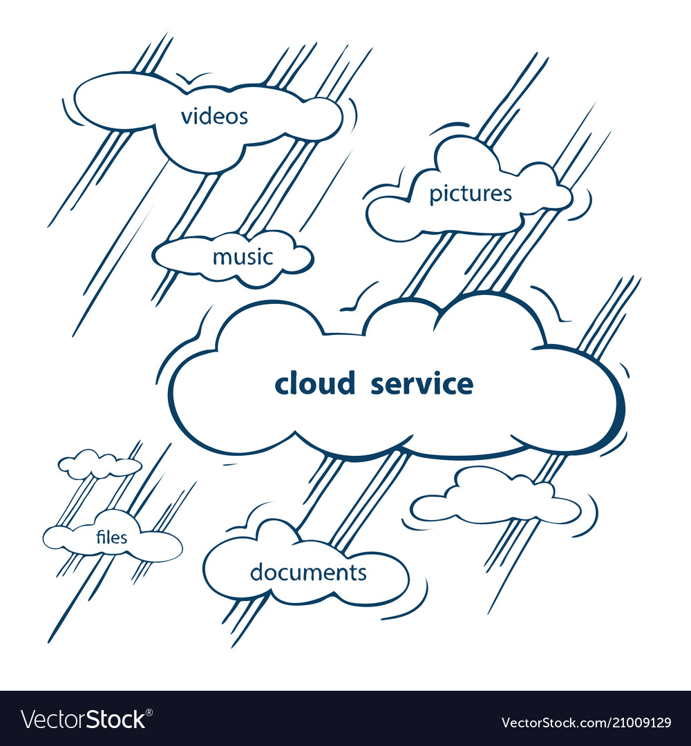 Cloud service sketch