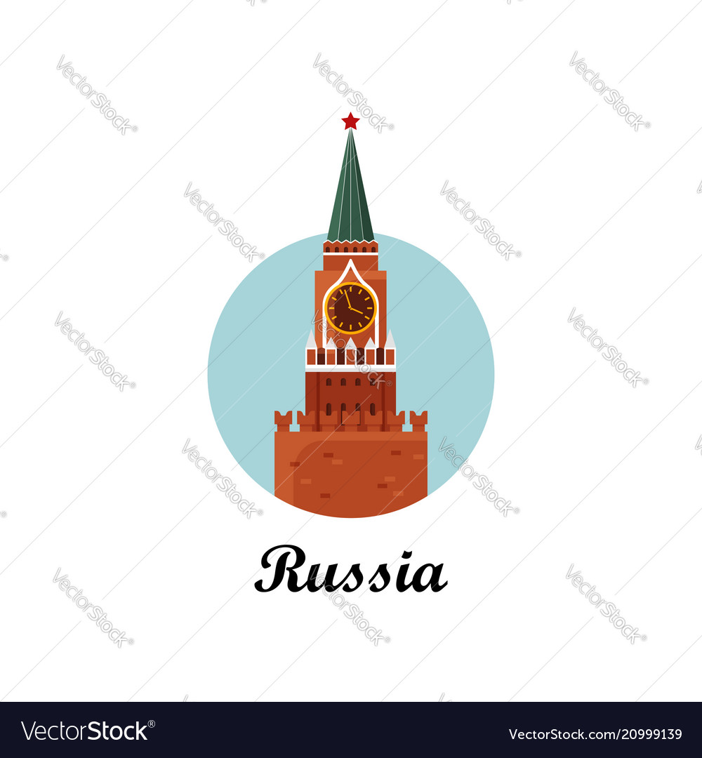 Welcome to russia the spasskaya tower on red