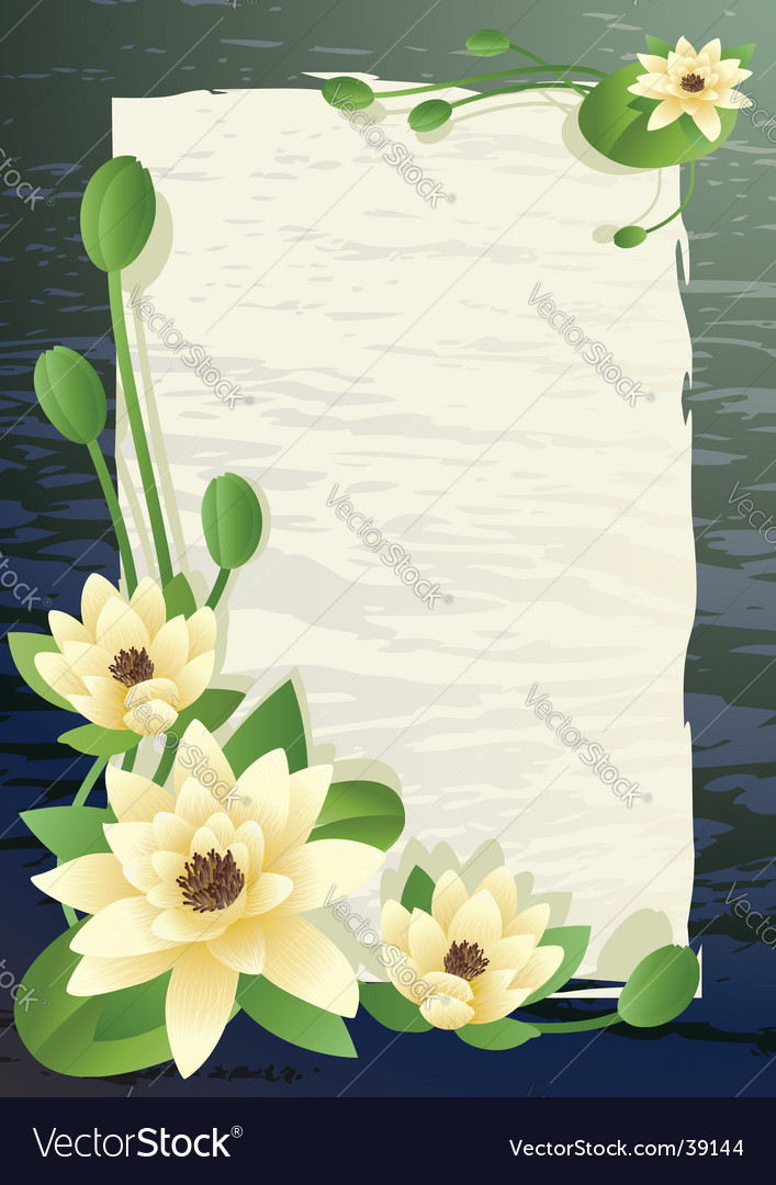 Blossoming lilies