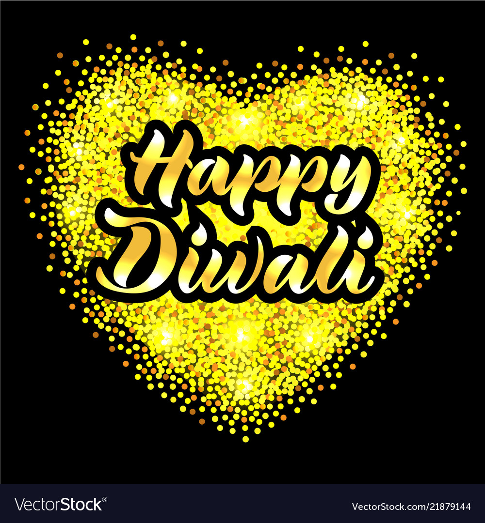 Happy Diwali For Invitation Greeting Card Poster
