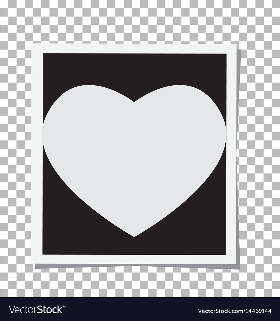 Heart photo frame insert your photo