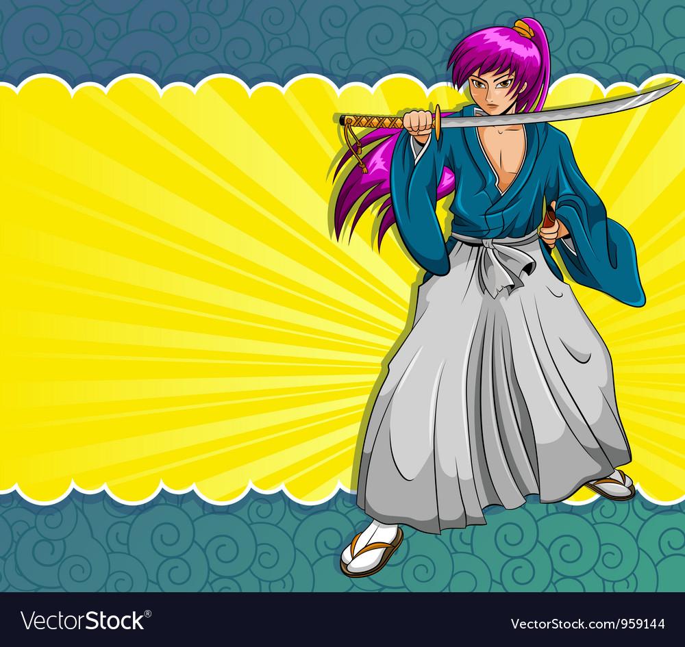 Manga samurai