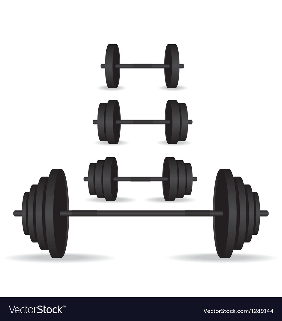 Weights black collection