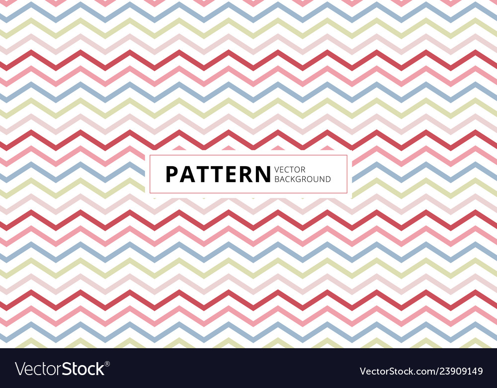 Abstract blue pink red color chevron pattern on