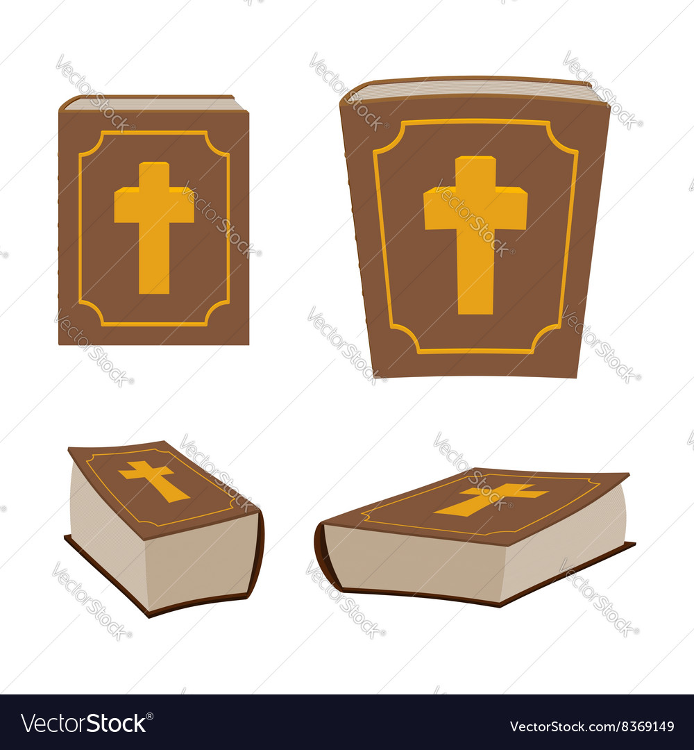 Bible is Holy Book set Different version of Holy