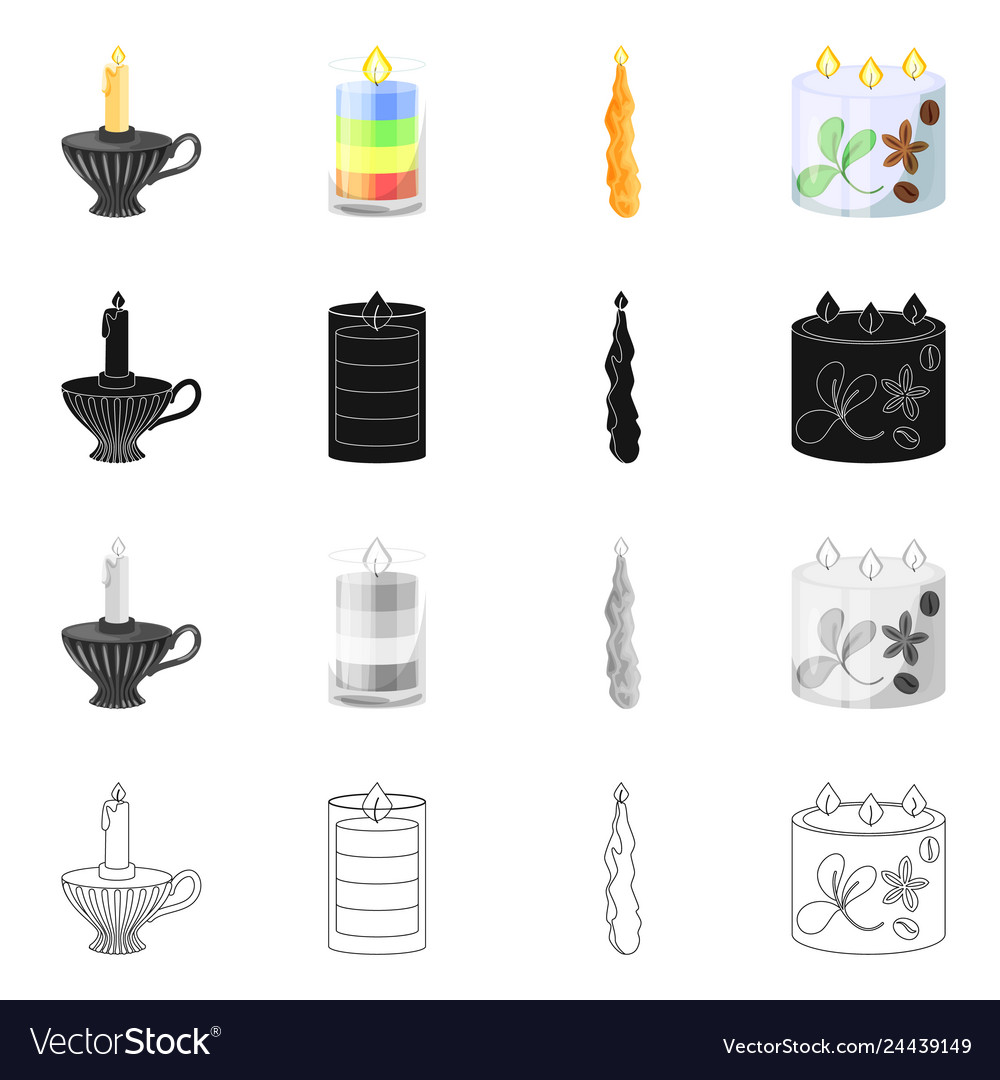 Isolated object of relaxation and flame sign