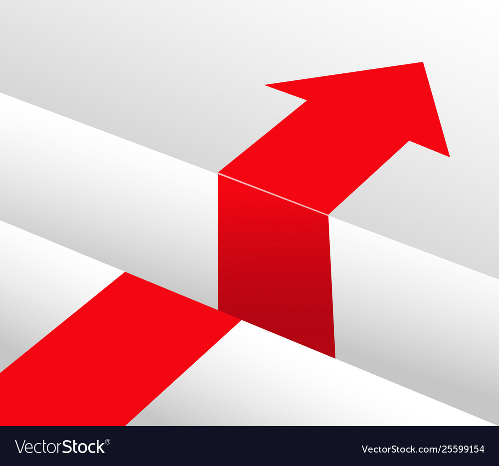 Red arrow and obstacle bypass