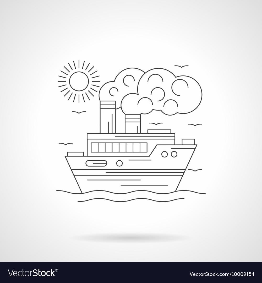 Steamship detailed line