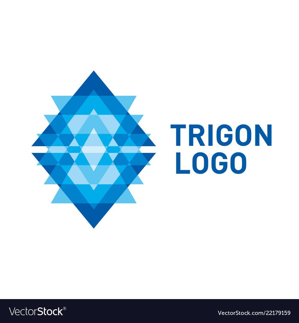 Triangle logo symbol