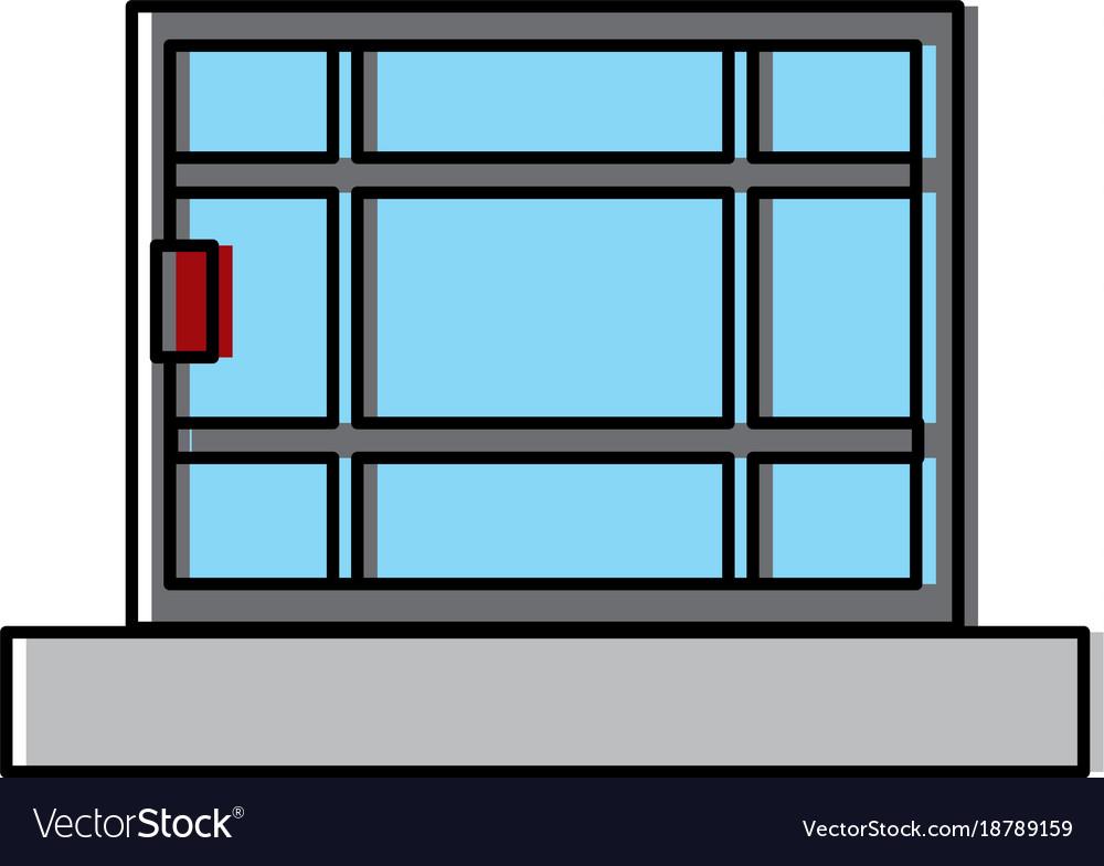 Window house isolated