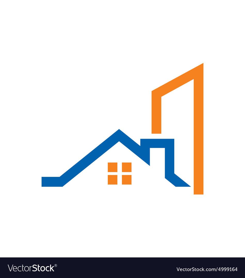 Home Construction Building Logo