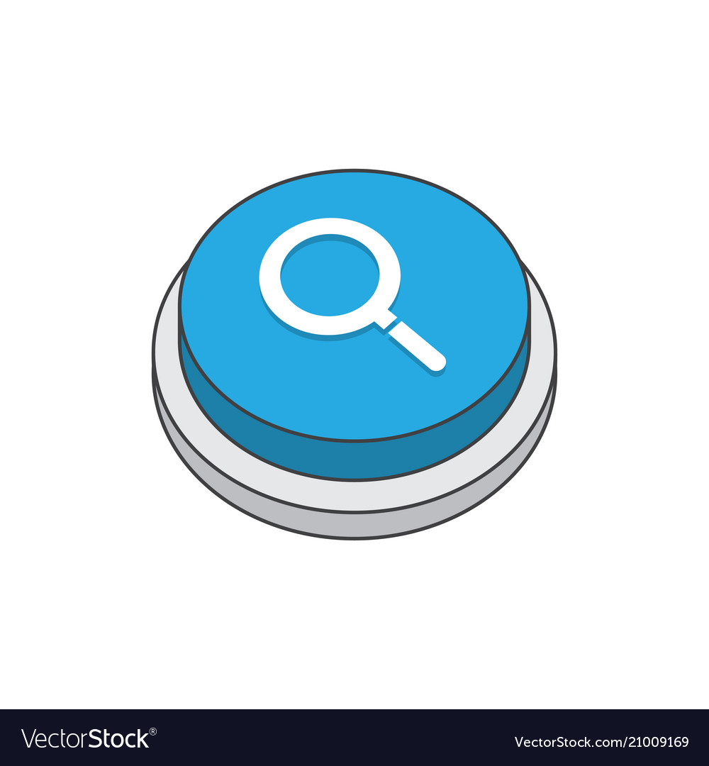 Search magnifier sign pictogram
