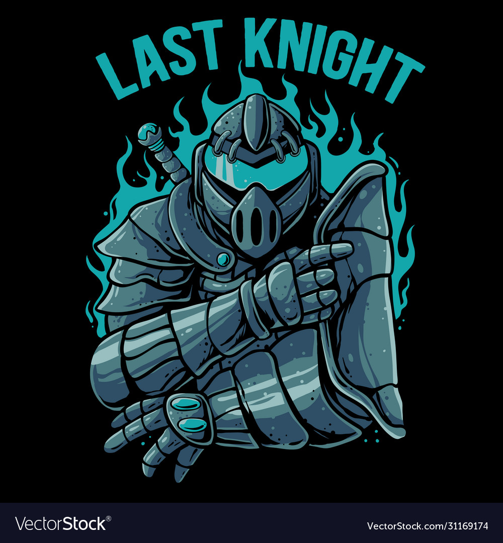 Knight warrior robot