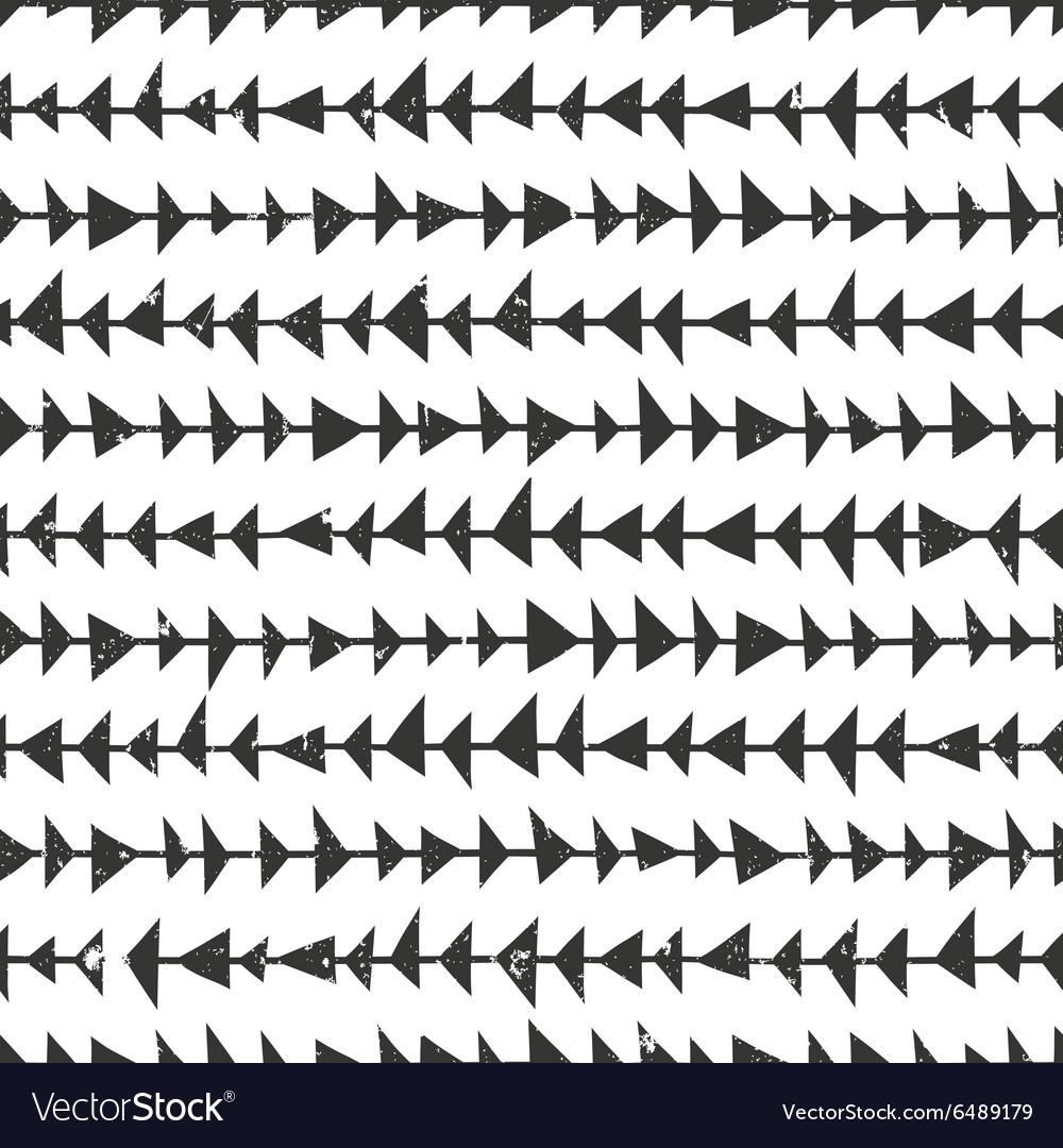 Abtract geometric pattern with triangles Hand