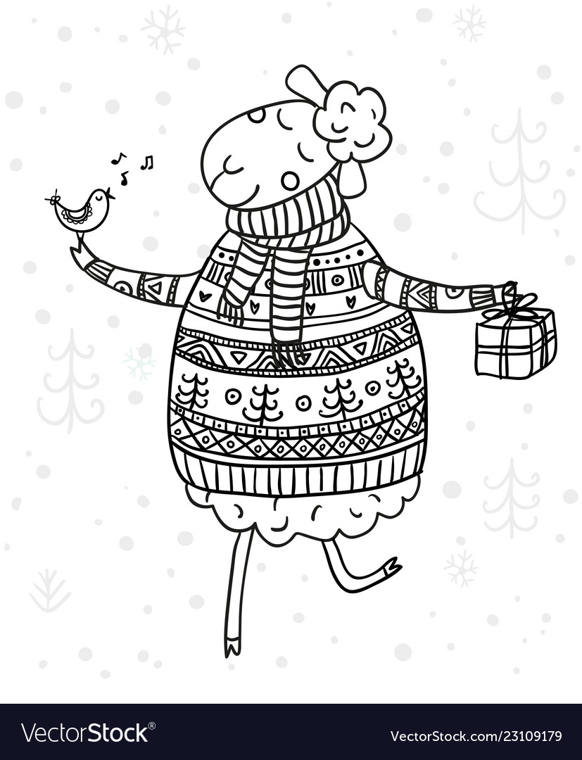 coloring pages : Free Coloring Pages For Kids New Christmas ... | 1080x827