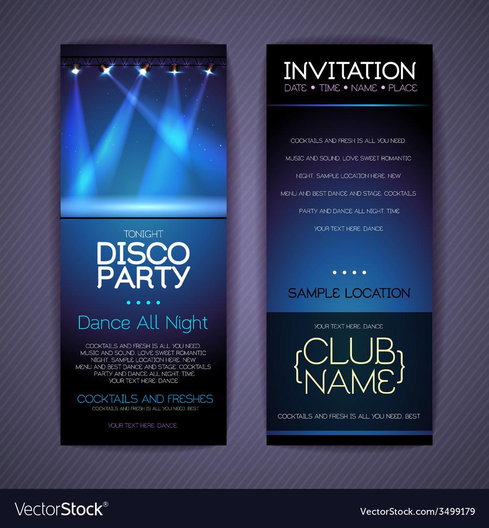 Disco corporate identity templates royalty free vector image disco corporate identity templates vector image stopboris Gallery