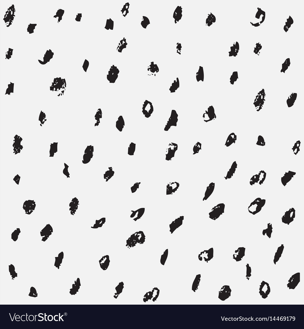 Pencil sketch dot pattern background set vector image