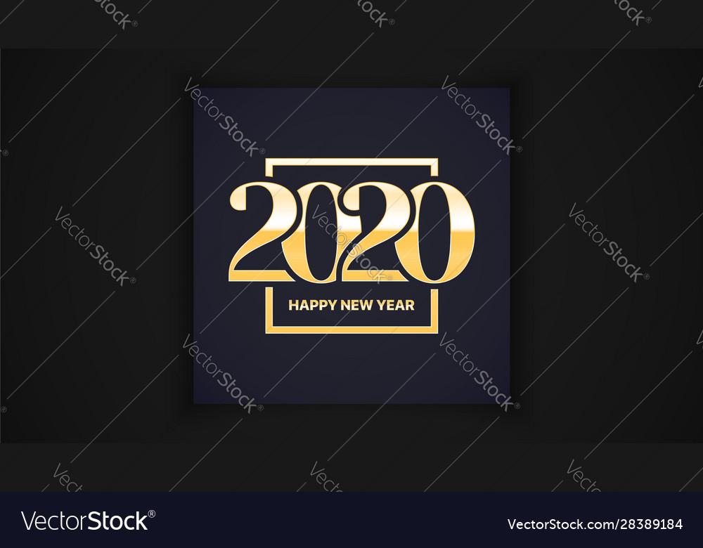 2020 happy new year eve luxury elegant classic
