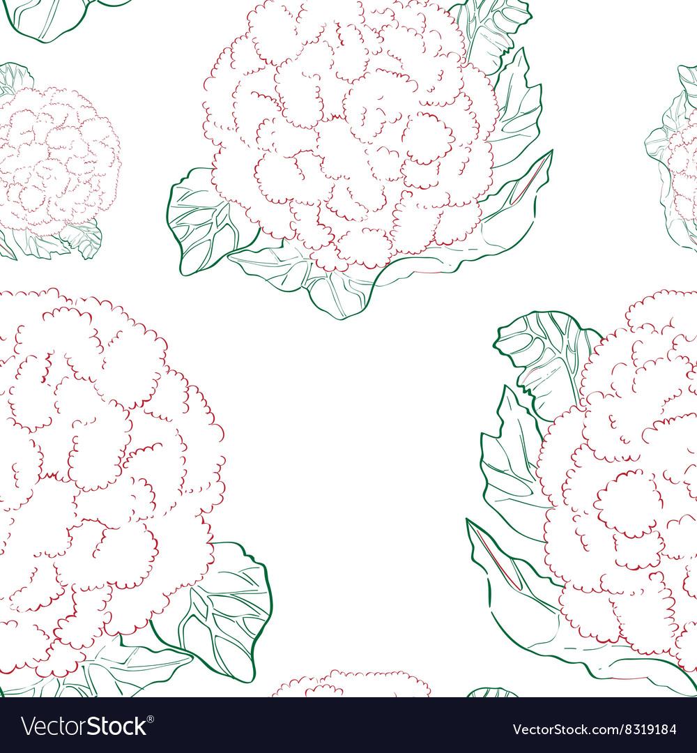 Cauliflower pattern