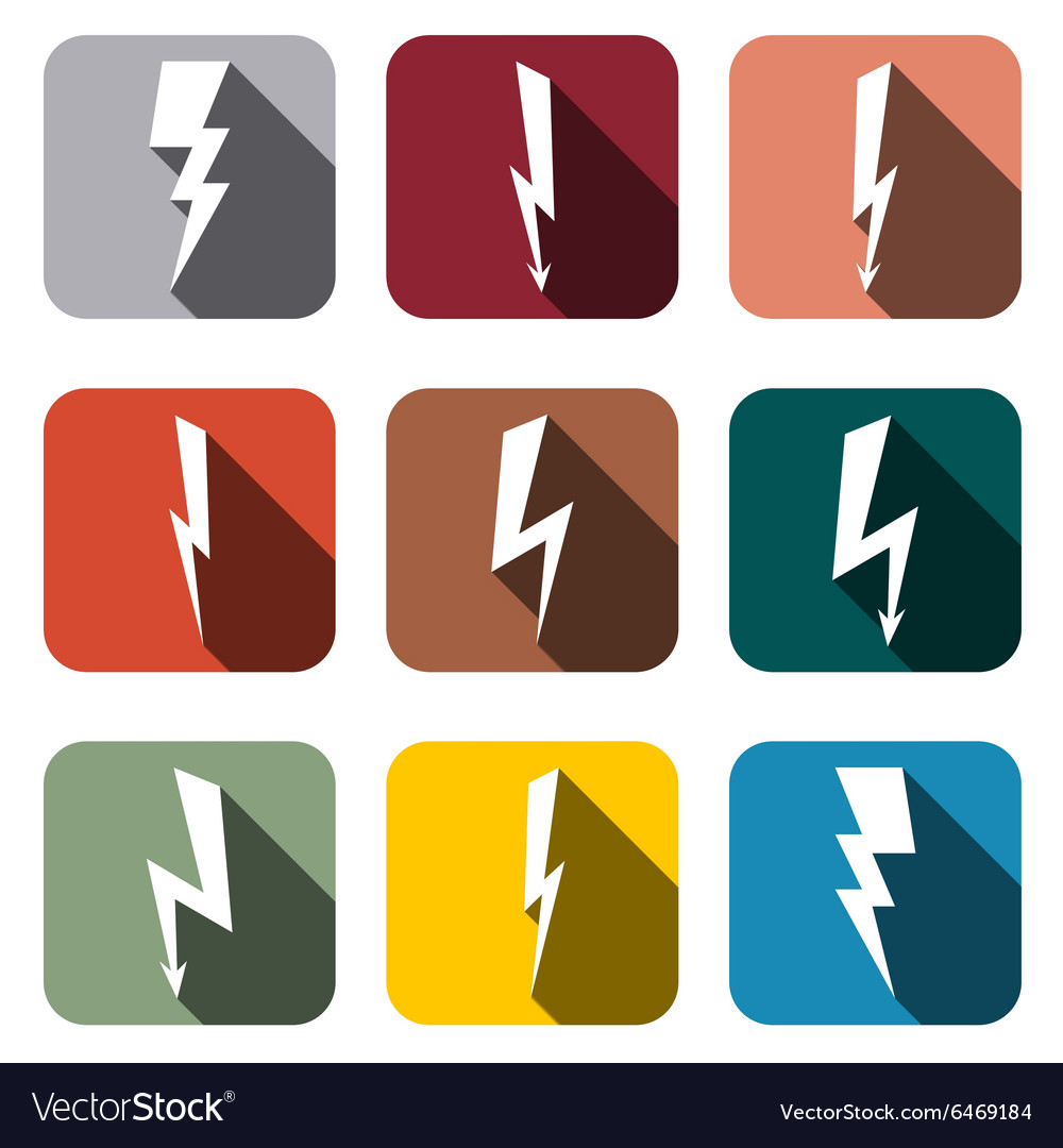 Icons lightning