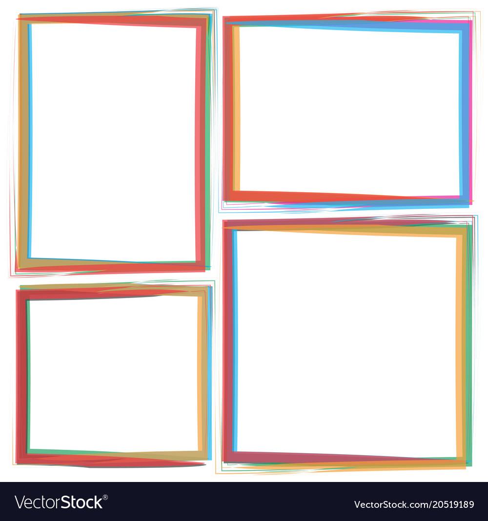 Art brush frame