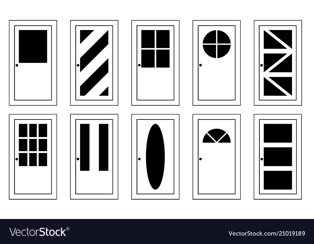 Different doors