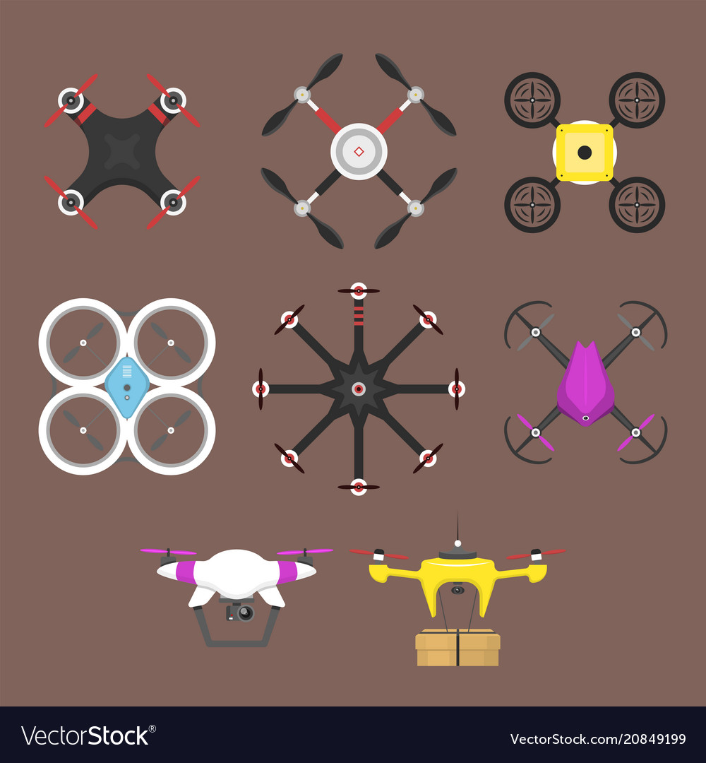 Aerial vehicle drone